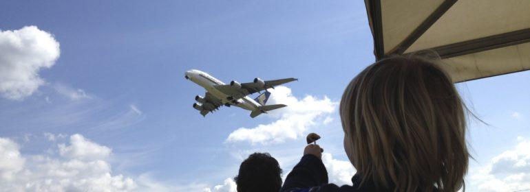 A380 mit Wurst