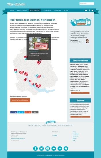 Mapping: eine eigene Karte mit interaktiven geographischen Markern