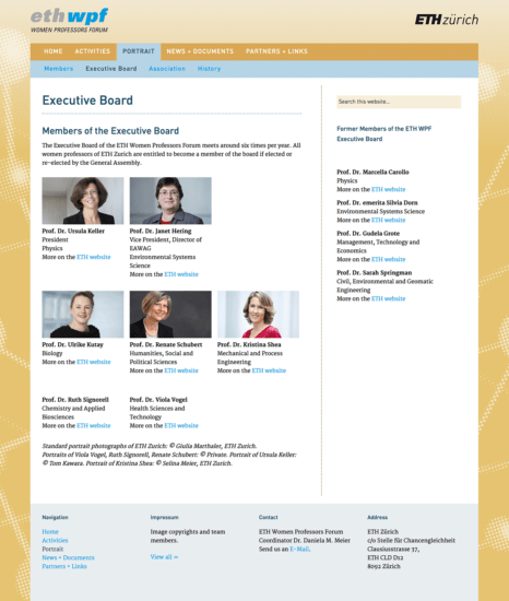 eth-wpf: Executive Board