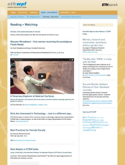 ETH-WPF: reading + watching